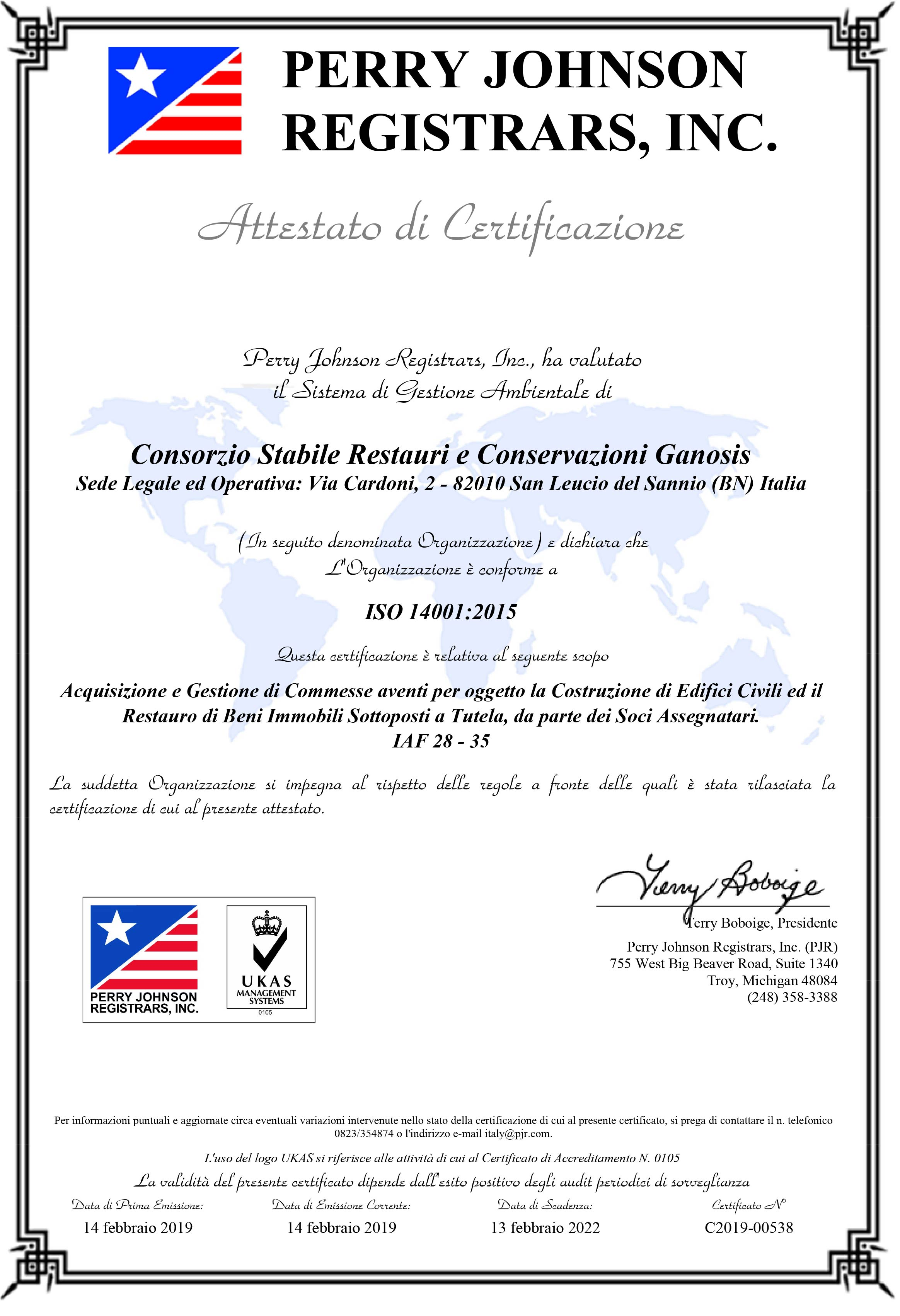 CERTIFICATO-GANOSIS-14001